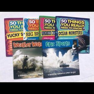 """50 Things"" Children's 6 Book Bundle"